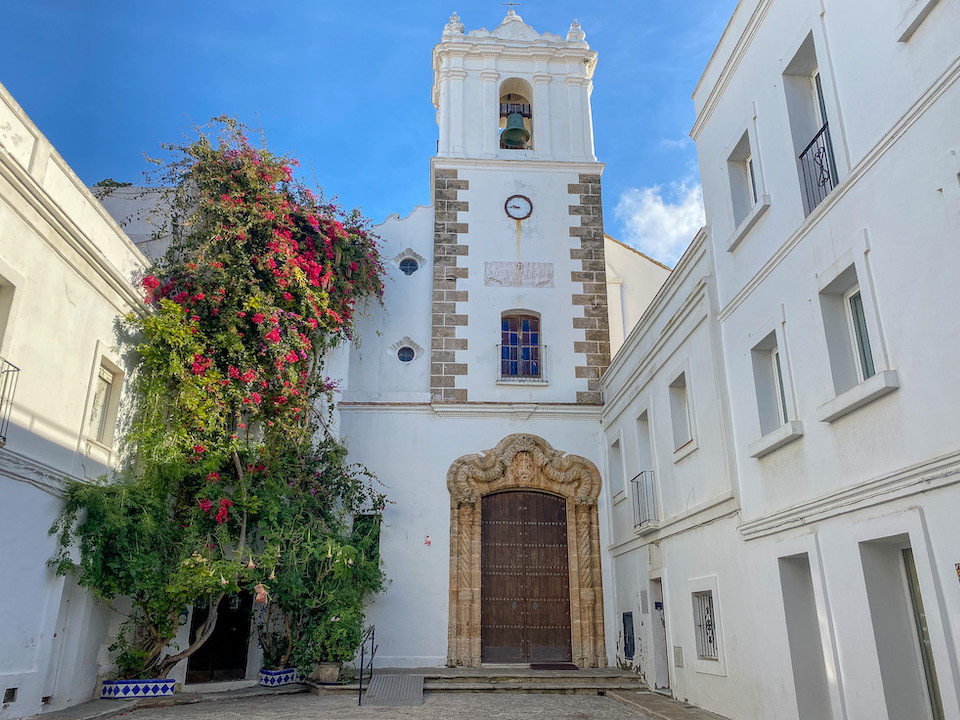 monumenten en bezienswaardigheden Tarifa - stadswandeling Iglesia de san Francisco