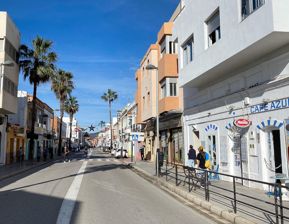 Calle Batalla del Salado tarifa shopping