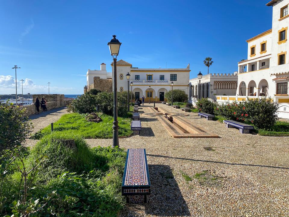 Bezienswaardigheden Mirador Africa - Tarifa old town