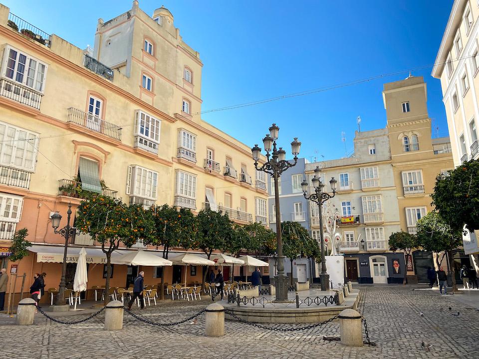 Pleinen van Cádiz - Plaza San Francisco.