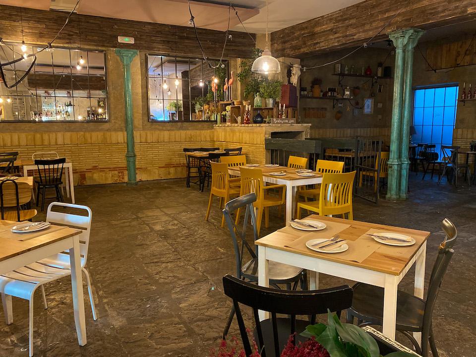 Weekend citytrip Cadiz - Eten en drinken Restaurant Sonánbulo.
