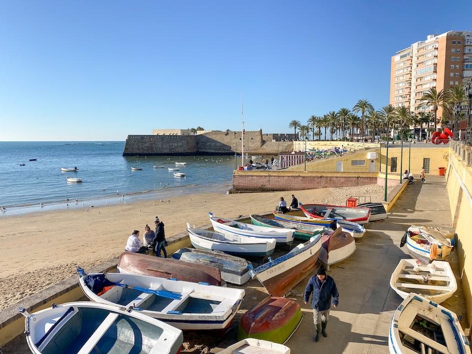 La Caleta: het strand van Cádiz