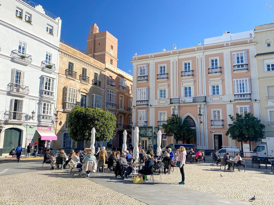 Pleinen van Cádiz - Plaza San Antonio