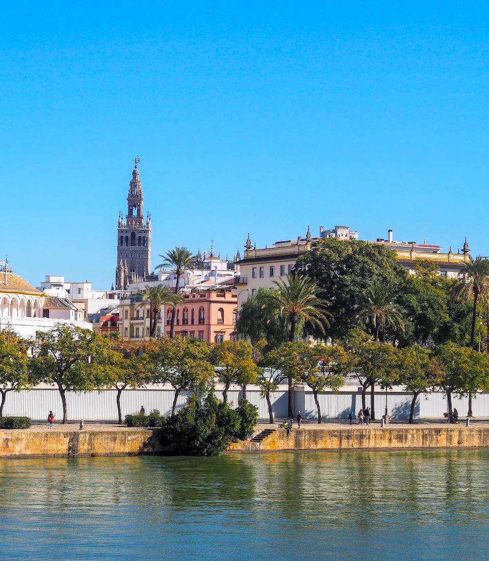 stedentrip Sevilla Guadalquivir -  Giralda