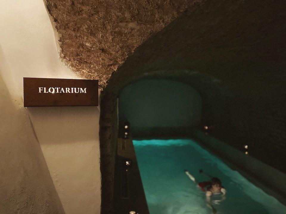 Thermal Bath Experience - Flotarium bad - AIRE Ancient Bath