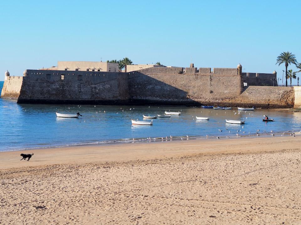 Castillo de Santa Catalina bezienswaardigheden Cadiz