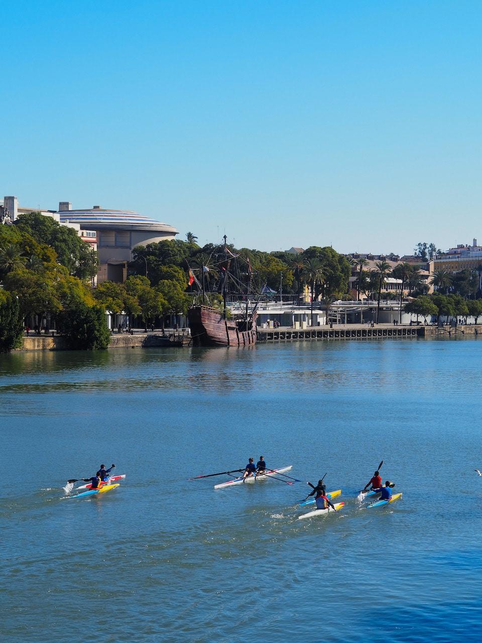 stedentrip Sevilla Guadalquivir - Nao Victoria 500