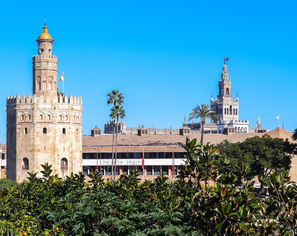 Torre de Oro - bezienswaardigheden Sevilla