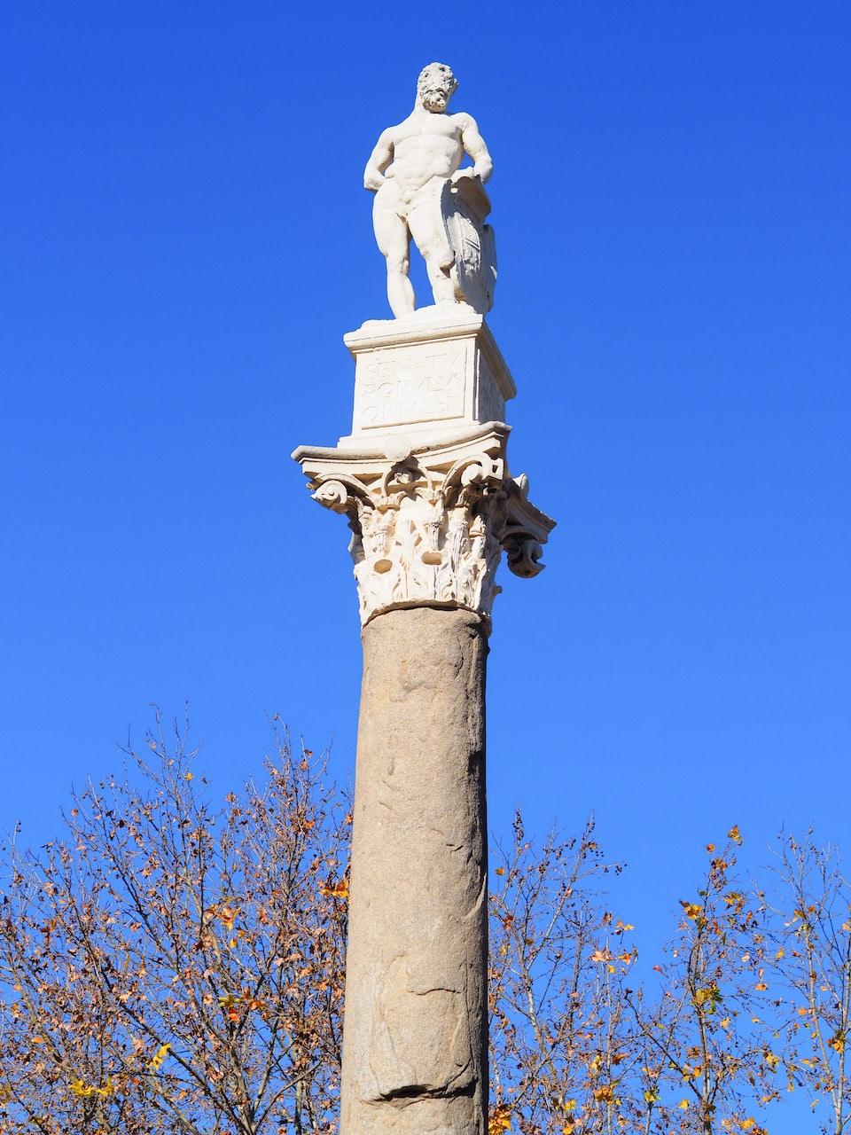 Romeinse tijd Sevilla Alameda de Hércules
