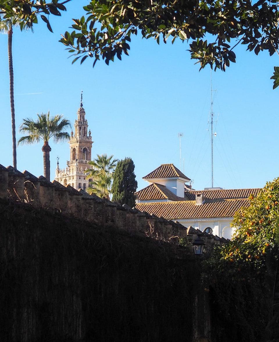Jardines de Murillo Giralda bezienswaardigheden Sevilla