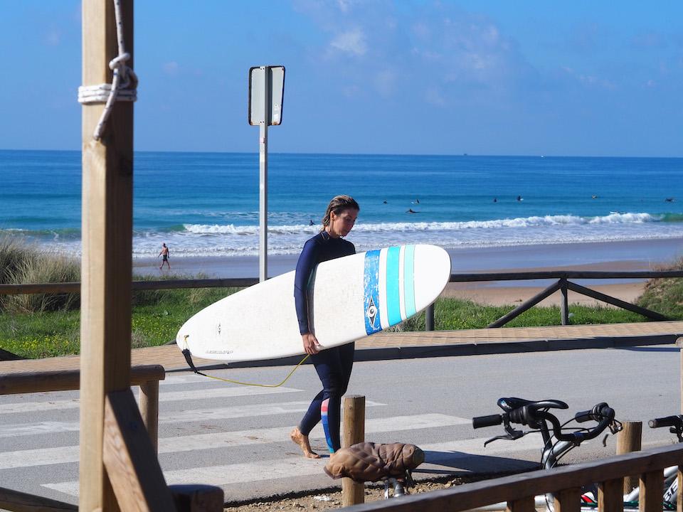 Surfen in Tarifa -El Palmar - beste surf spot van Spanje