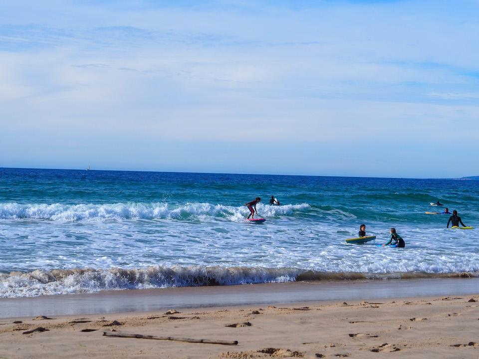 Surfen in Tarifa - hotel Arte Vida - Balneario