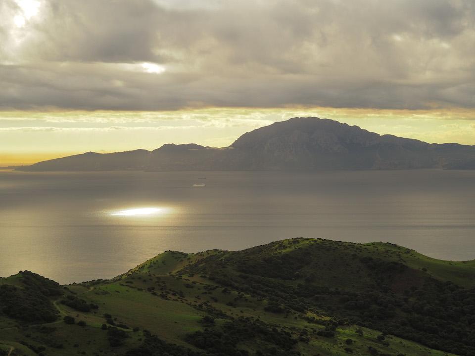 Mirador del Estrecho mooiste uitzicht op Afrika vanuit Tarifa