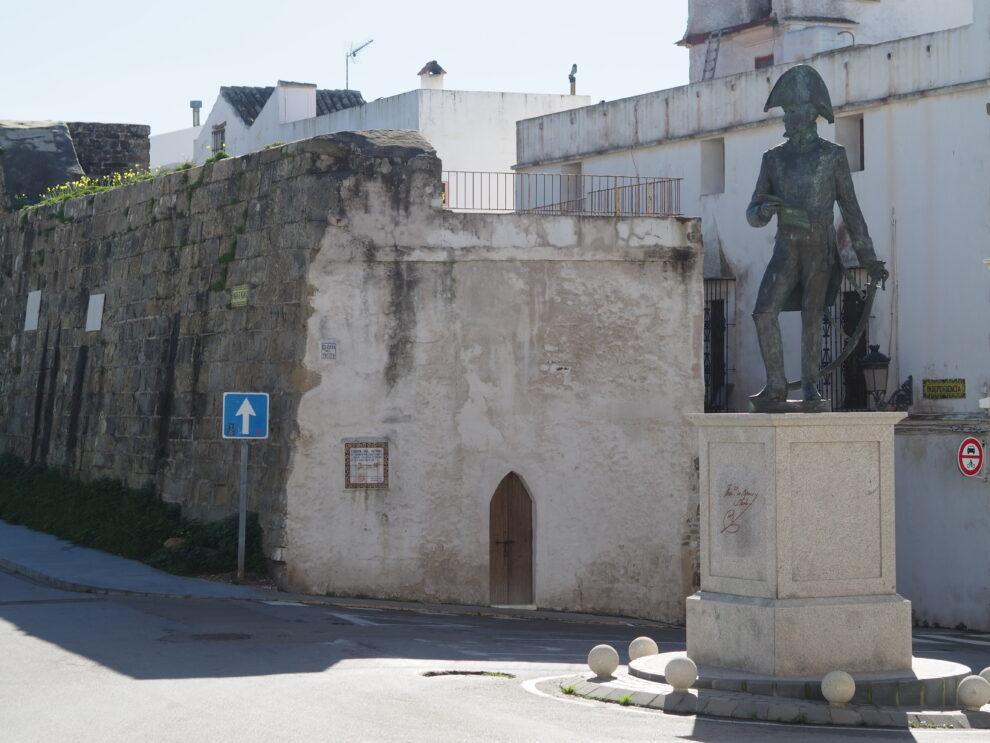 Puerta del Retiro oude toegangspoort uit de middeleeuwen geschiedenis van Tarifa
