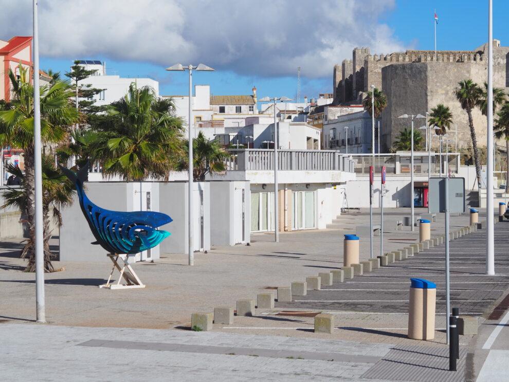de haven van Tarifa met de boot naar Tanger
