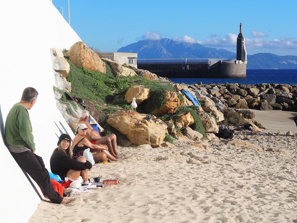Beste stranden van Tarifa - kitesurf vakantie Playa Chica