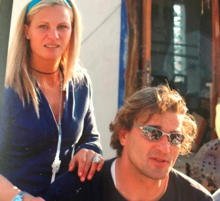 minouche en Sergio in Spanje
