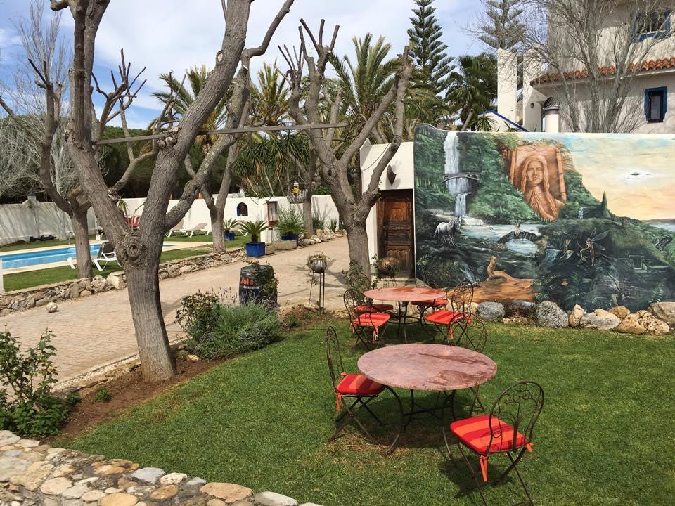Paraiso Perdido - unieke accommodatie in Conil de la Frontera - B&B van Nederlanders
