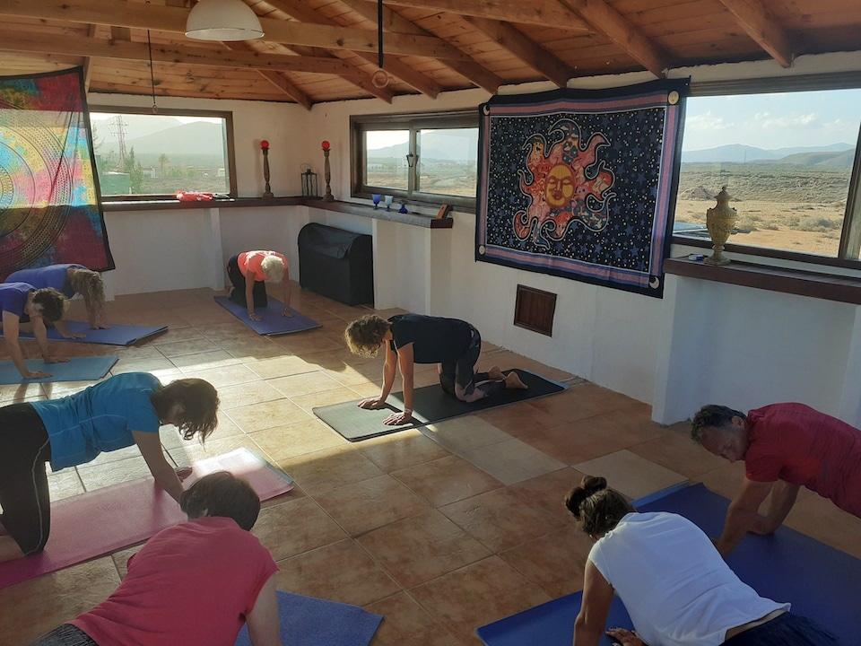 Sabine en Pascal - yoga op Fuerteventura - Villa Vital