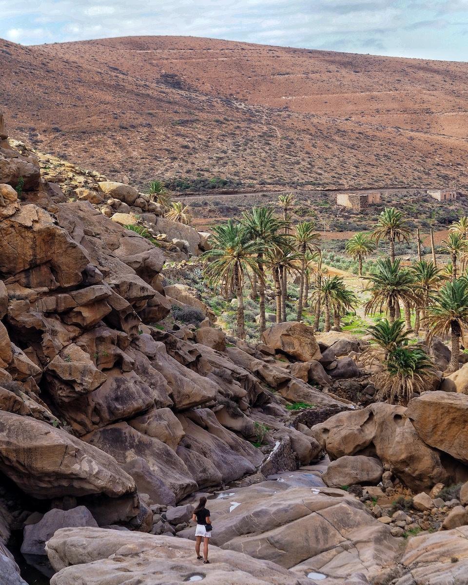 Vega de Río Palmas - klimmen en boulderen Fuerteventura