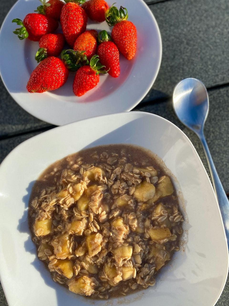 Gezond eten tijdens vakantie - ontbijt bij Villa Vital