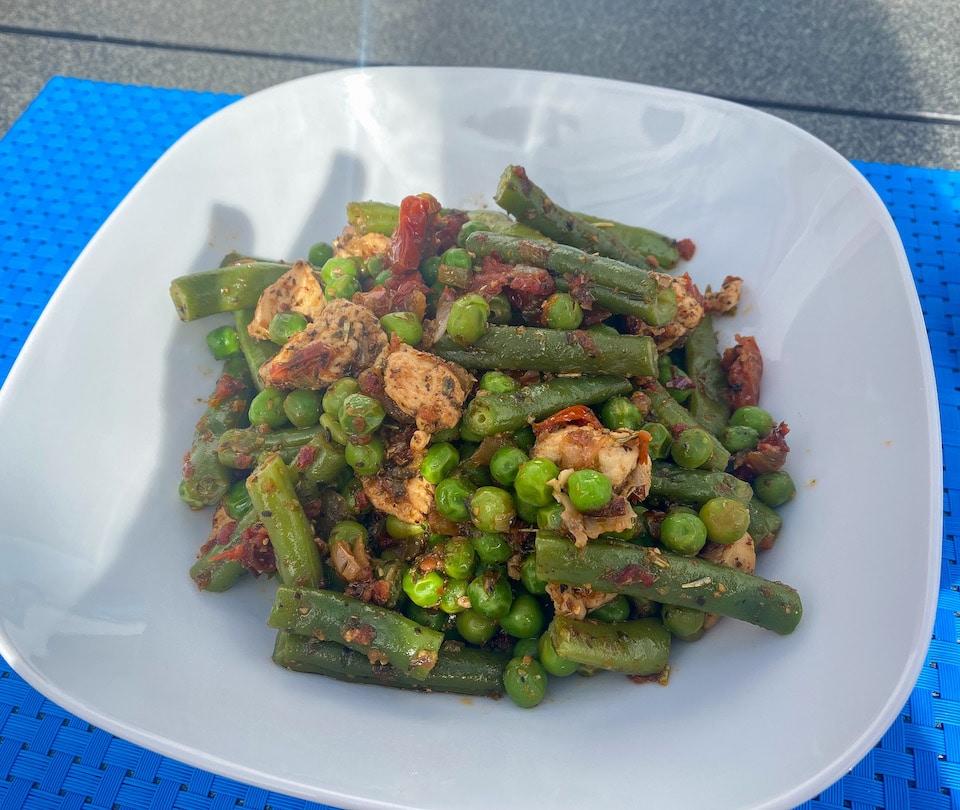 Gezond eten tijdens vakantie - lunch bij Villa Vital