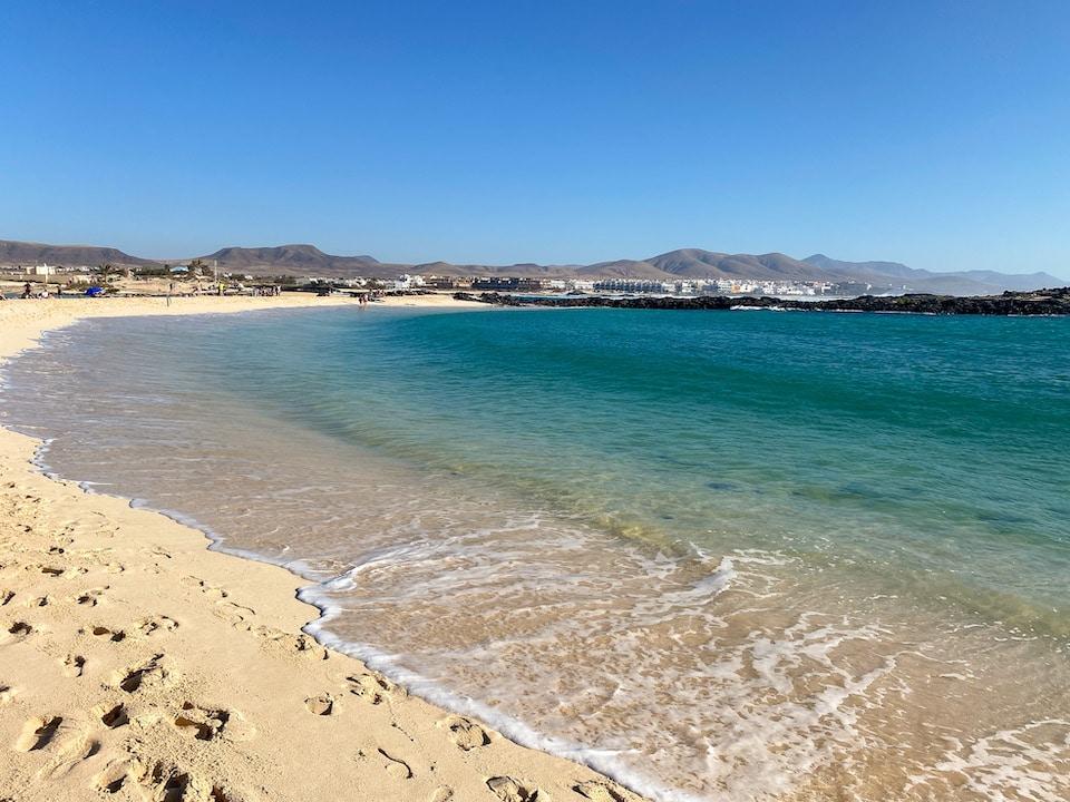 Mooiste stranden Fuerteventura La Concha