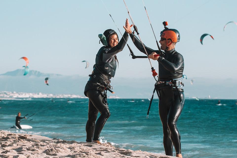 leren kitesurfen in Tarifa - zelfsabotage herkennen en doorbreken