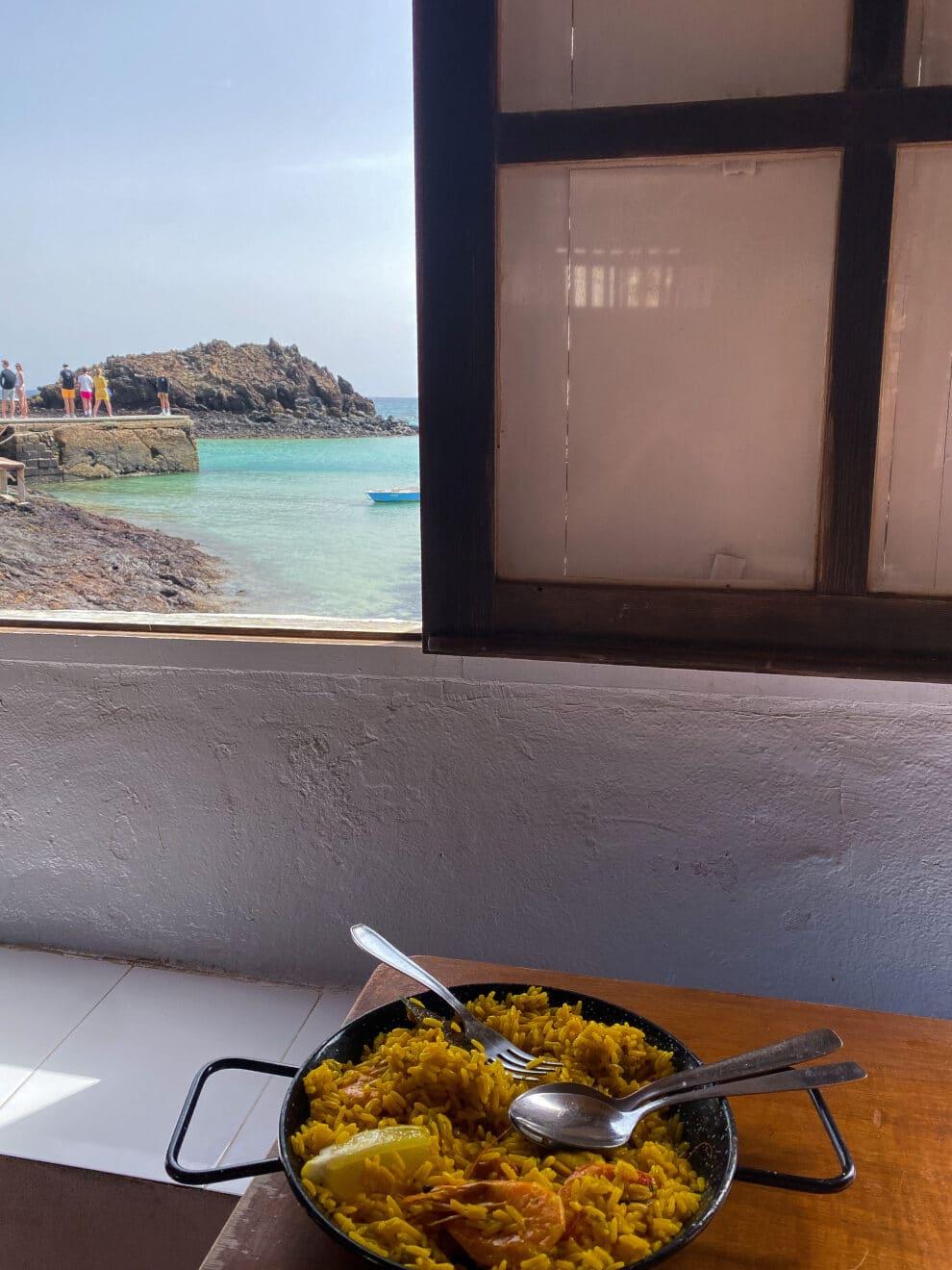 restaurants op Isla de Lobos