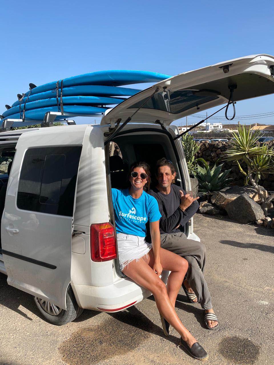 leren surfen op Fuerteventura The Surfescape