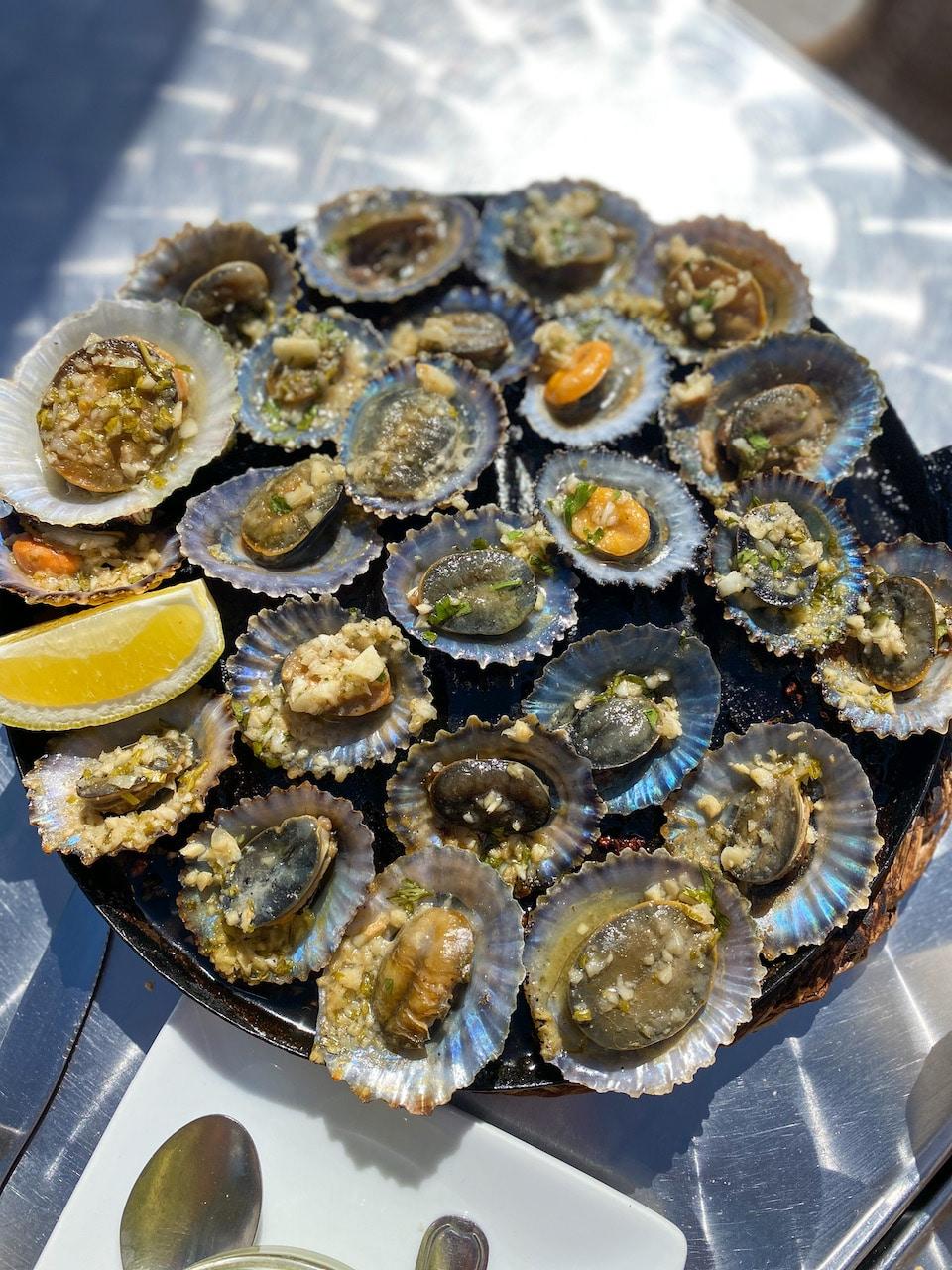 vis eten op El Hierro - La Restinga - Lapas