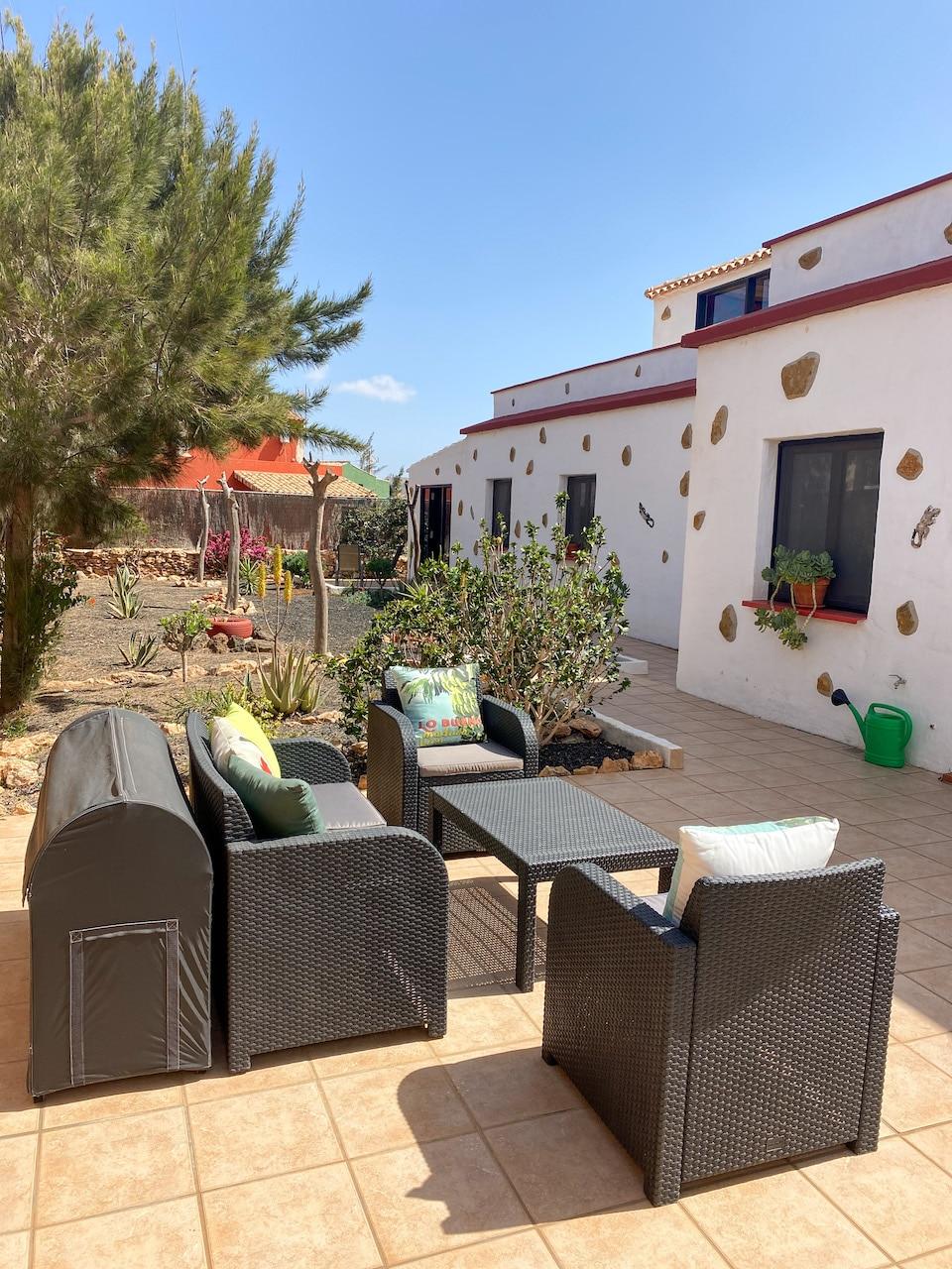 kamers van Villa Vital - wandel en fiets vakantie op Canarische eilanden