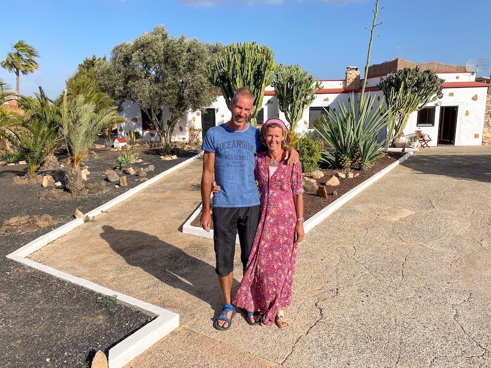Pascal en Sabine Nederlandse B&B op Canarische Eilanden Fuerteventura