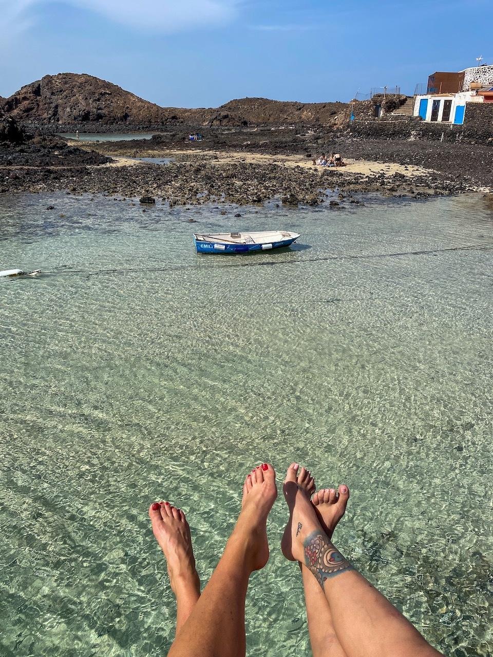Isla de Lobos bezoeken met de boot