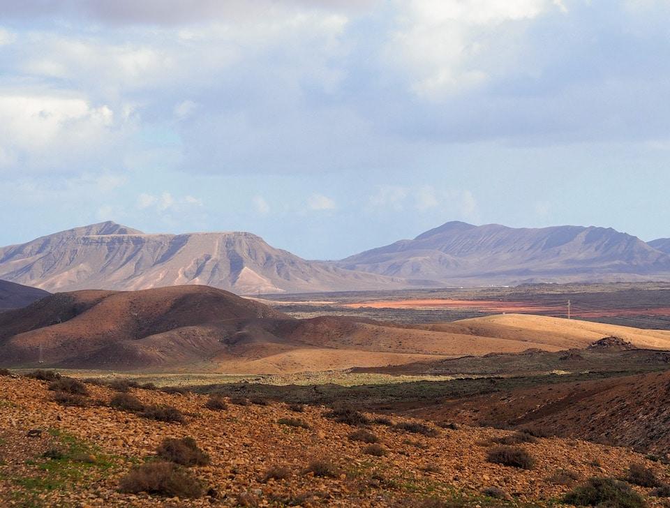 wandelen Fuerteventura Caldera de Gairia
