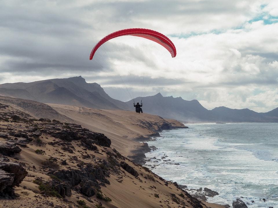 Playa De Agua Liques - mooie plekken paragliden canarische eilanden