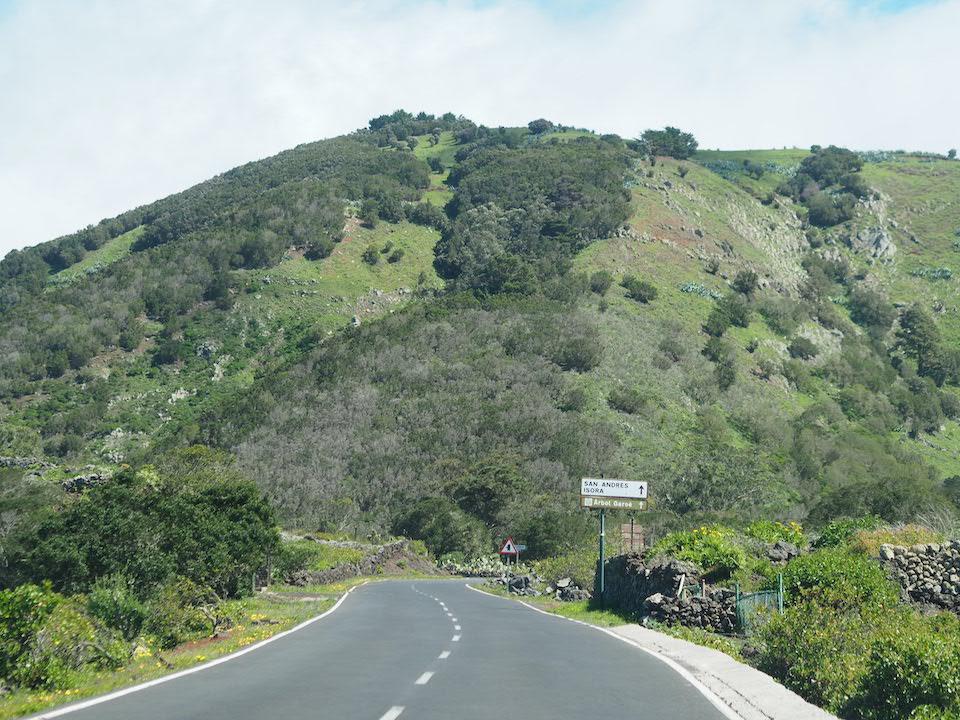 Roads on El Hierro - Fero