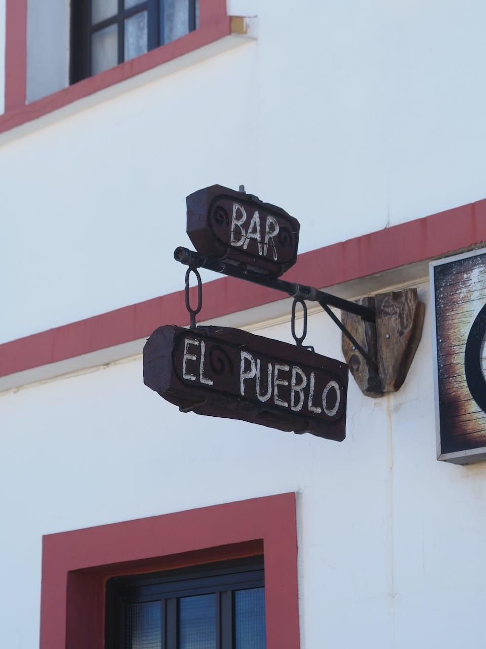 Bar Cafetería El Pueblo Isora El Hierro