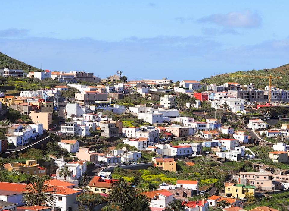 hoofdstad EL Hierro Valverde