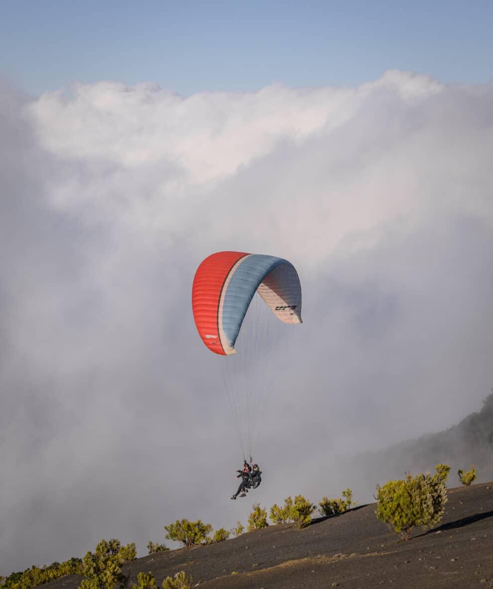 Paragliden op El Hierro door Max  Terwindt