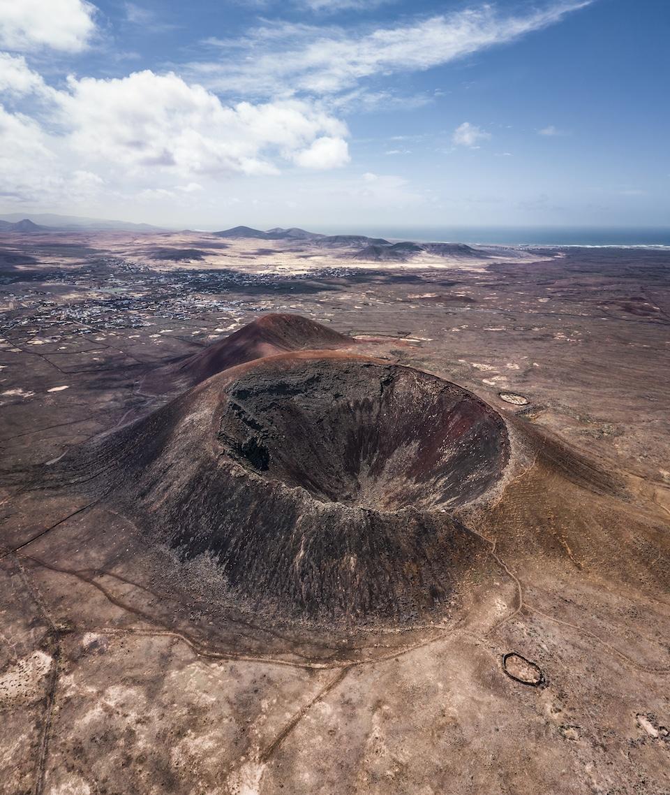 vulkaan beklimmen Calderon Hondo
