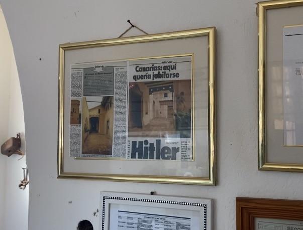 Villa Winter Fuerteventura van binnen - Hitler