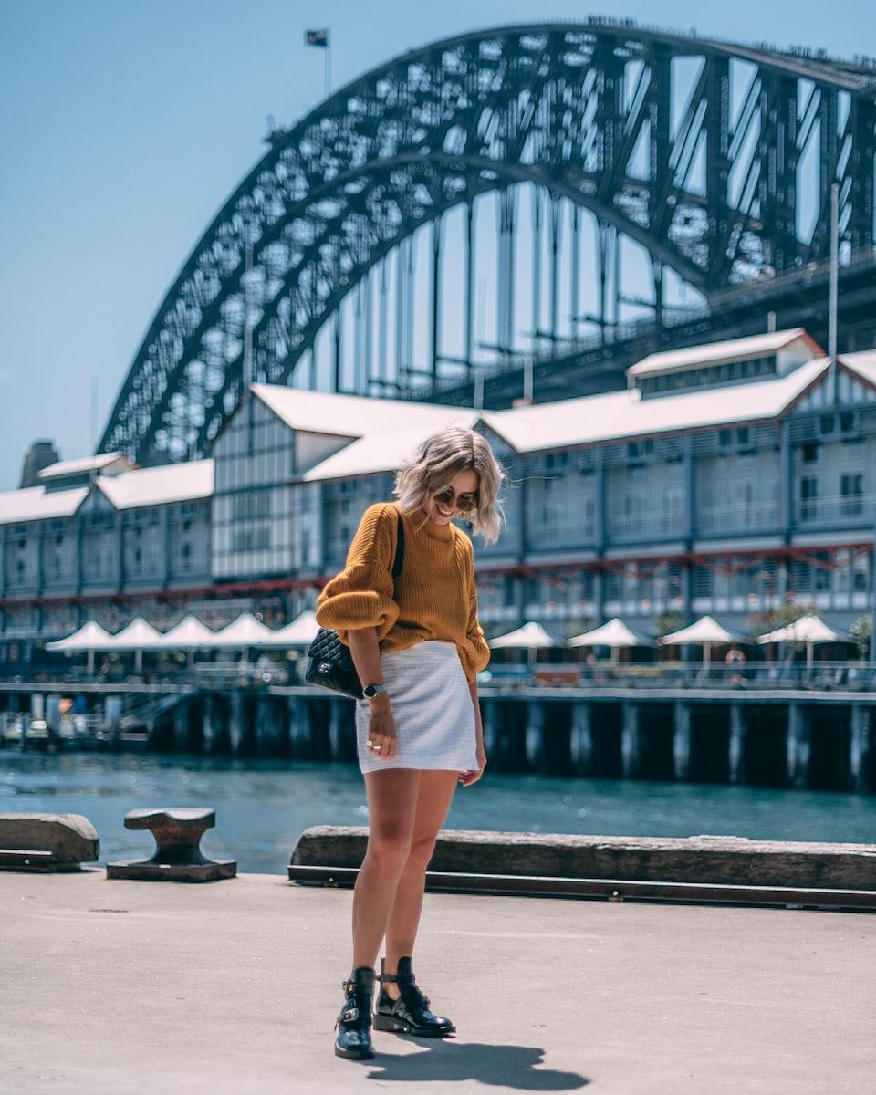 Lian Galliard in Sydney
