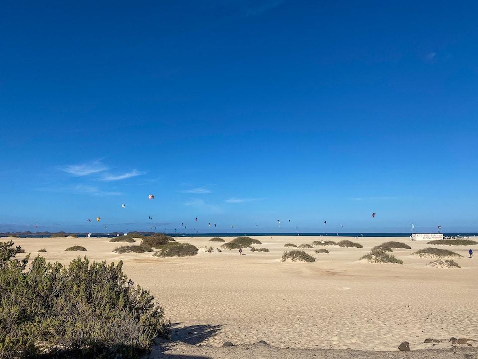kitesurf spots op Fuerteventura - Flagbeach