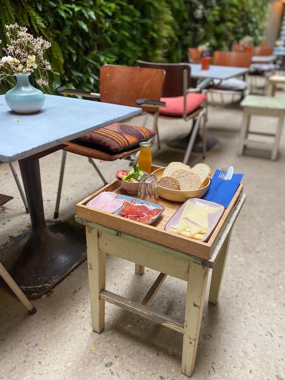 goed ontbijten in het oude centrum van Tarifa