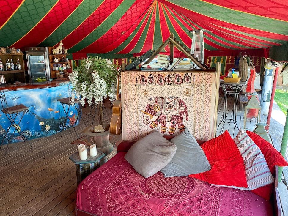 hippie vakantie, workation aan de Costa de la luz