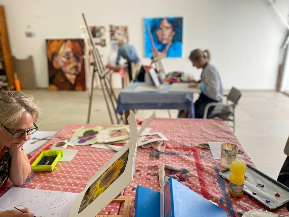 Schildervakantie La Luce Paintings in Zuid Spanje