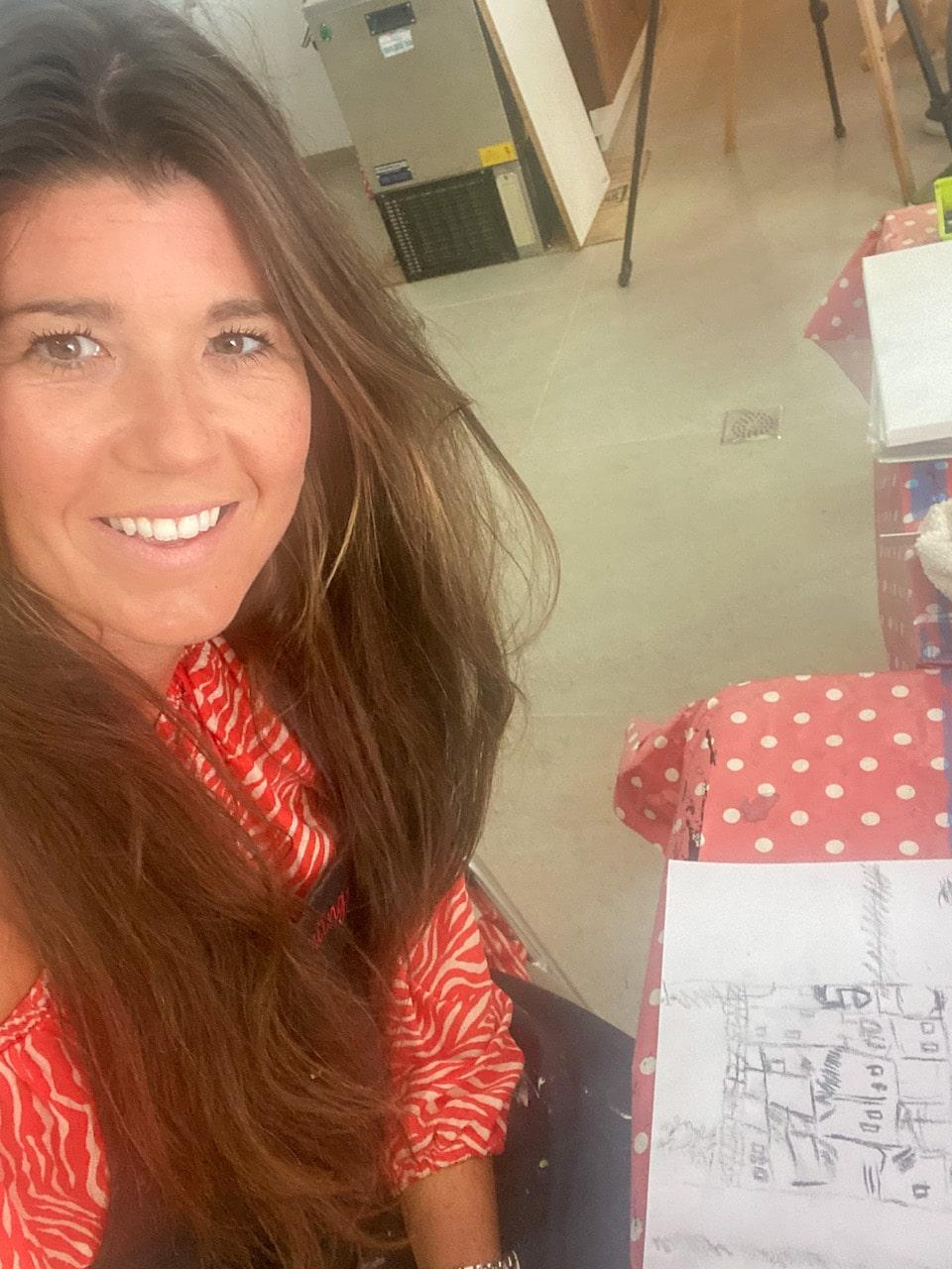 Chloe Sterk voor ESPANJE magazine in Conil de la Frontera