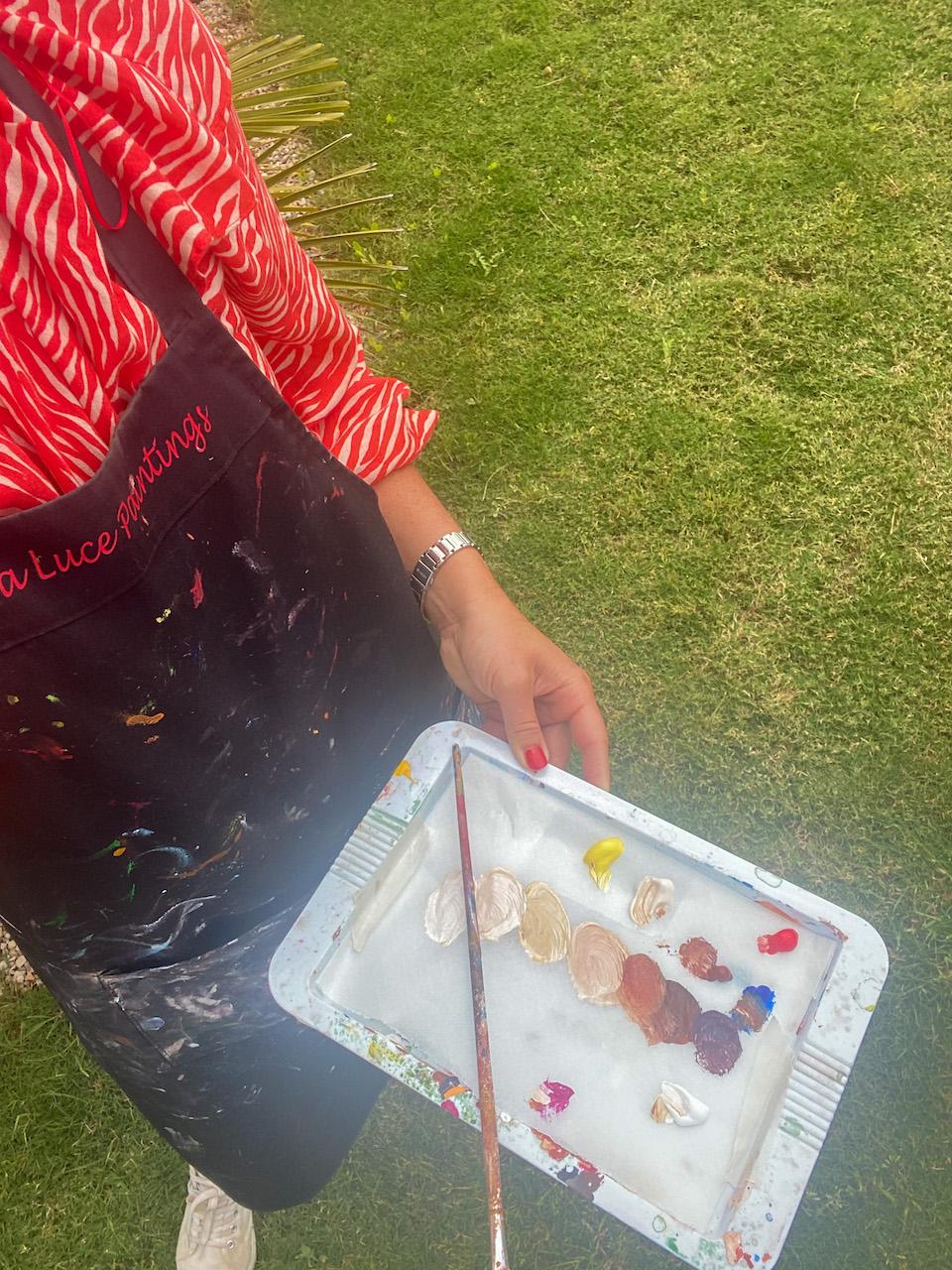 kleuren mengen schilderen