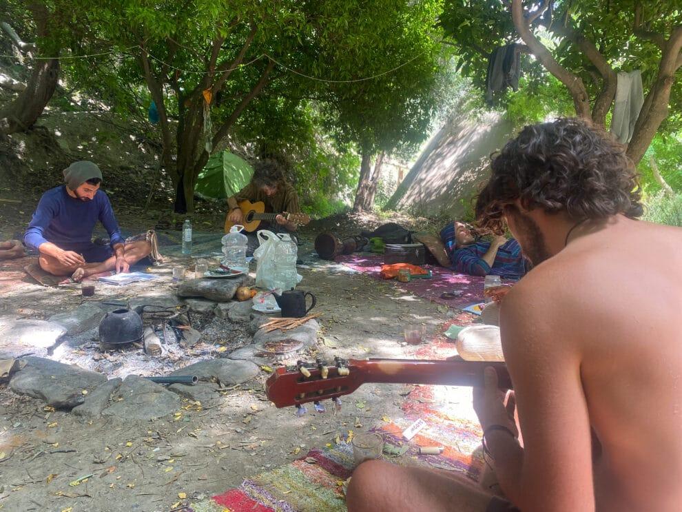de hippies van Orgiva